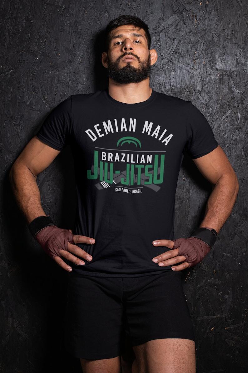 Demian Maia BJJ Graphic Unisex T-Shirt image 0