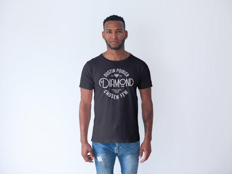 Dustin The Diamond Poirier MMA Fighter Wear Graphic Unisex Black