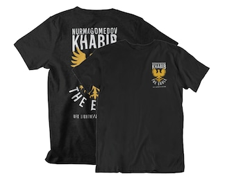 The Eagle Khabib Nurmagomedov Graphic Front & Back Unisex T-Shirt