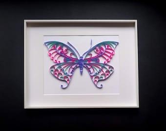 PAPLIN PAPER PAP361 Paplin Quilling Kit Butterflies
