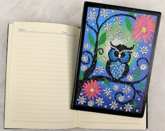 Mandala 5 DIY Mandala Flower Special Shaped Crystal 64 Pages A5 Notebook Notepad Diary Book Kits Christmas Birthday Gift Diamond Painting Cover Notebooks