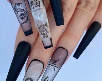 3d Nail Art Etsy