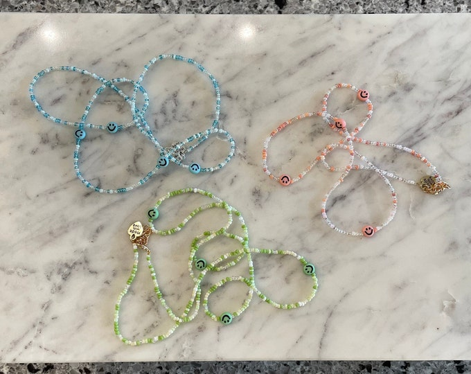 Customizable Smiley Face Waist Beads (8 Colors!)
