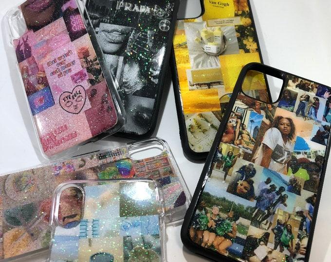 Handmade Aesthetic Glitter Phone Cases