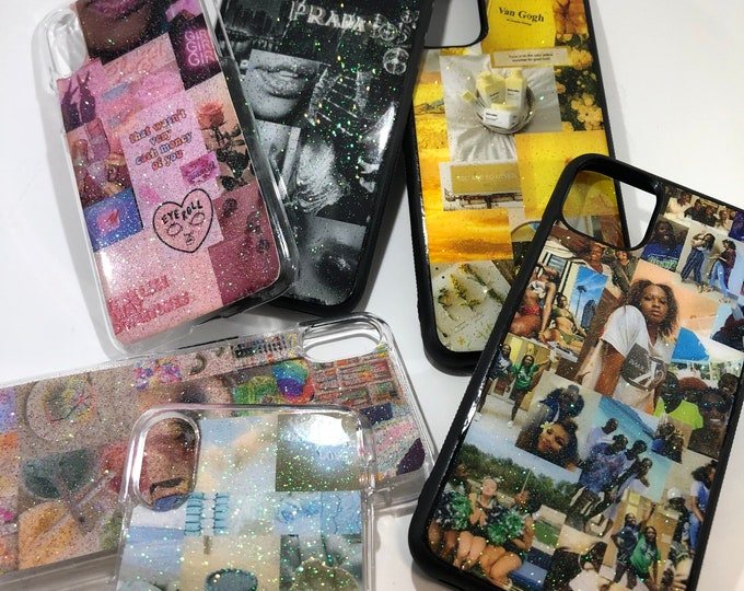 CUSTOMIZABLE Handmade Aesthetic Phone Cases