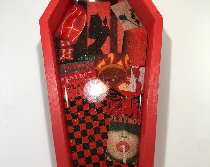 Mini Aesthetic Coffin Trays