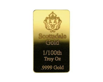 Gold Bullion Bar Etsy