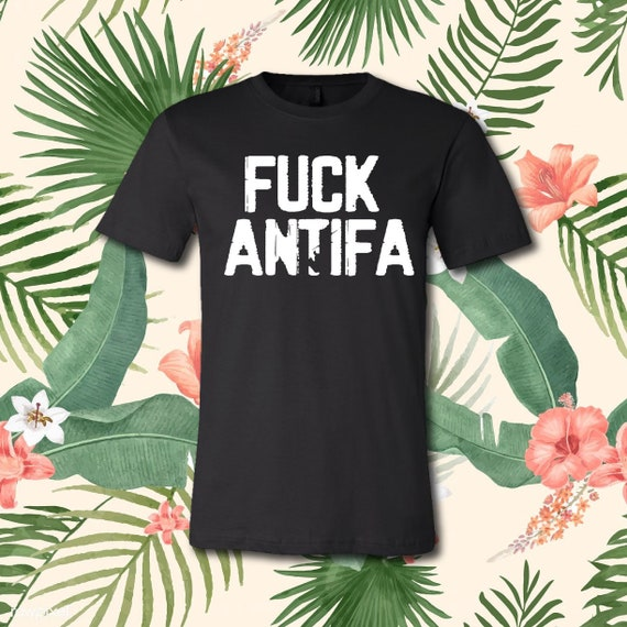 Fuck Antifa | Casual T-Shirt