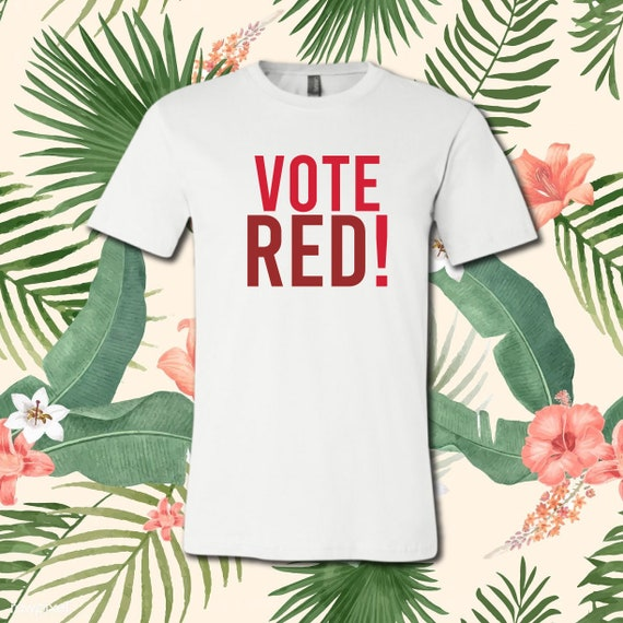 Vote Red! | Casual T-Shirt