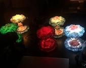 Nuclear Explosion Bomb Diorama model LIGHT night lamp nuke fallout little boy fat man decorative military mushroom cloud