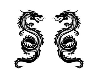 Dragon tribal car truck vinyl decal sticker cool wizard dungeons