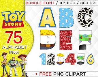 Toy Story Alphabet | Etsy