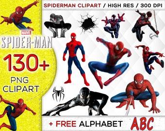 Spiderman Clip Art (free) | Cartoon clip art, Spiderman birthday, Spiderman