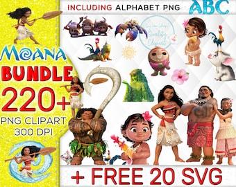220+ MOANA CLIPART, Moana SVG, Moana Birthday, Moana party, Moana Download, Moana Alphabet, Moana Font,Moana,Moana Tumbler, Moana Mug, Moana