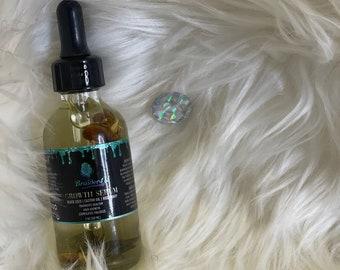 HAIR GROWTH OIL, Natural Hair Oil, Hair Growth Serum Hair Loss Treatment, Natural Hair Care Castor Oil Blackseed Oil, Hair Accessories