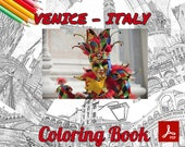 Venice Italy Coloring Pages - 24 Gorgeous Pages - Coloring Pages with PDFs