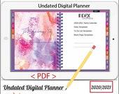 Mini Digital Planner Vol.1 - Undated Digital Planner Goodnotes Planner, Undated Daily Weekly Digital Journal,Goodnotes Template, Hyperlinked