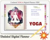 YOGA Digital Planner Vol.1 - Undated Digital Planner Goodnotes Planner, Undated Daily Weekly Digital Journal,Goodnotes Template, Hyperlinked