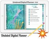 Digital Planner Vol.7 -2020/21,Undated Digital Planner Goodnotes Planner,Undated Daily Weekly Digital Journal,Goodnotes Template,Hyperlinked