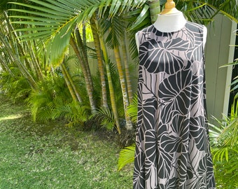 Custom Order Knit, Rayon Summer Relaxed Comfy Dress