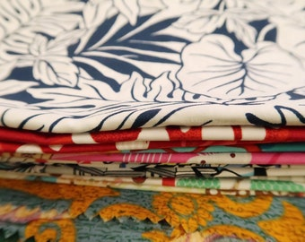 Scrap Print Fabric by Weight - 6.2oz | Floral, Asian, Hawaiian, Tribal, Kimono, Silk, Variety Mix Set