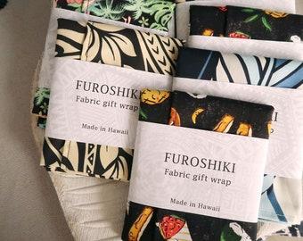 Gift Wrap Hawaiian Fabric Furoshiki | Eco Wrapping Cloth SMALL | F253
