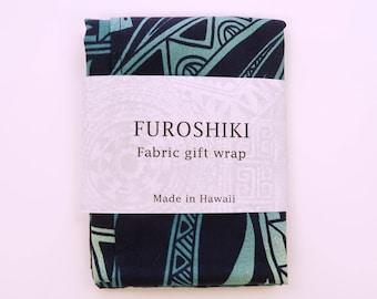 Gift Wrapping Cloth Polynesian Ombre Print Furoshiki|Small Size