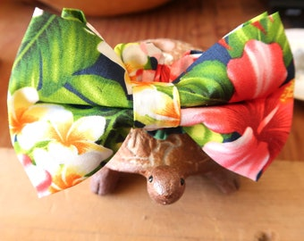 Bow Tie for Gift Ideas, Special Events | Hawaiian Floral Print | S,M, L