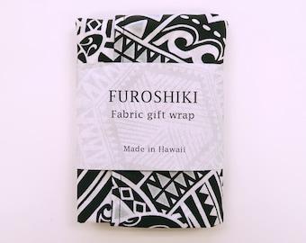 Gift Wrap Fabric Tribal Print | Eco Wrapping Cloth SMALL