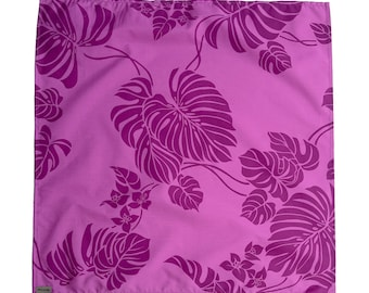 Silkscreen Gift Wrap Fabric Furoshiki | Made in Hawaii Original Print | Small