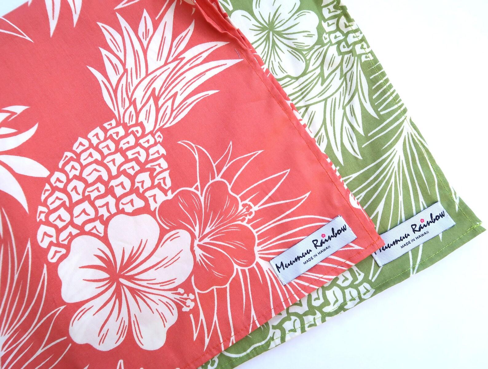 Hawaiian themed napkins