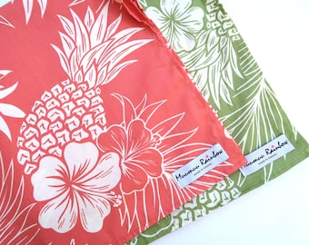 Napkin Set | Hawaiian Print Cloth Furoshiki | Small Size Set