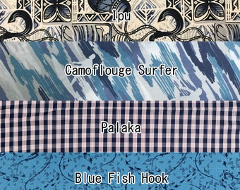 2yd Set : 1/2yd cut each Hawaiian Aloha Shirts Mens Collection - Pre-cut Fabric Set  | SetM 01