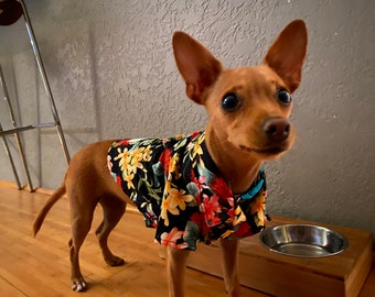 Custom Made Dog's Shirts for Custom Fitting