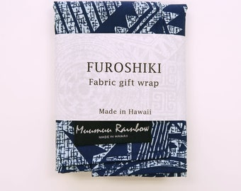 Gift Wrap Fabric Diamond Geometric Print | Eco Wrapping Cloth SMALL