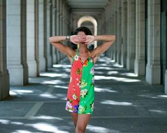 Coral Garden Play-suit  Romper  Mono