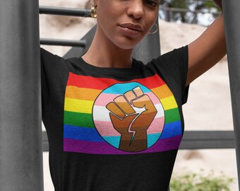 Gay Equality Liberty Justice for All Muscle Shirt