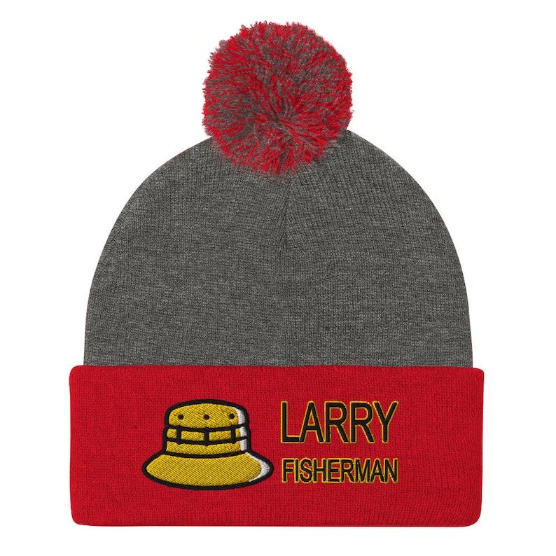 Pom-Pom Beanie Larry fisherman with fisherman/'s hat