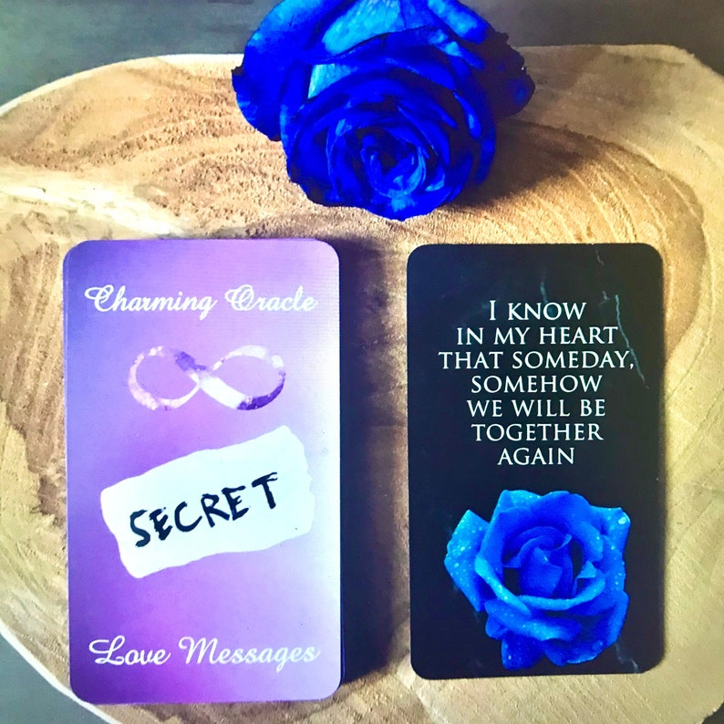 IN STOCK Charming Secret Love Messages Twin Flames Oracle image 0