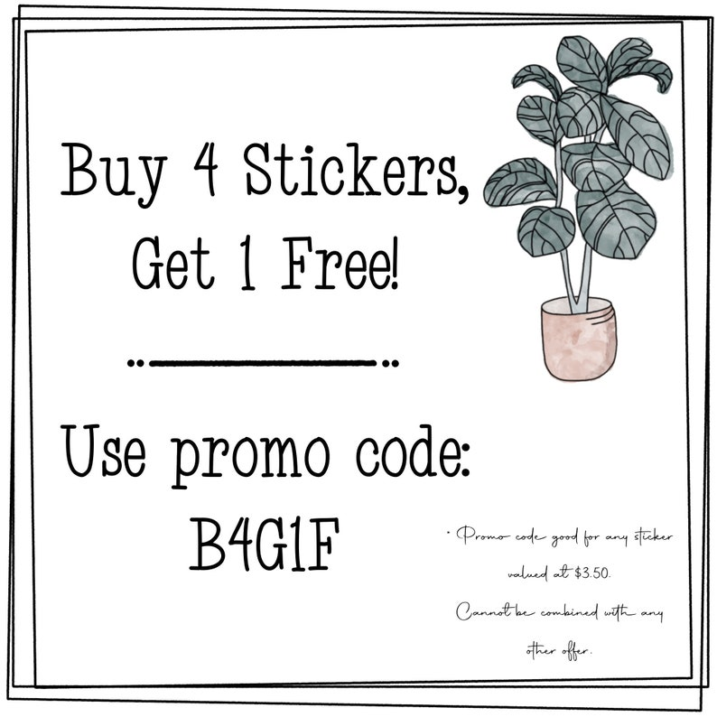 Boho Sticker Mini Pack