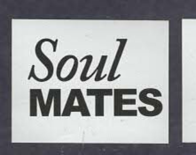 soul mates pair of shoe stickers easy to apply