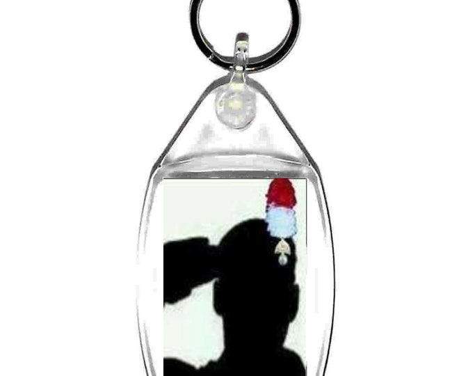 fusilier only the best will do keyring  handmade in uk from uk made parts, keyring