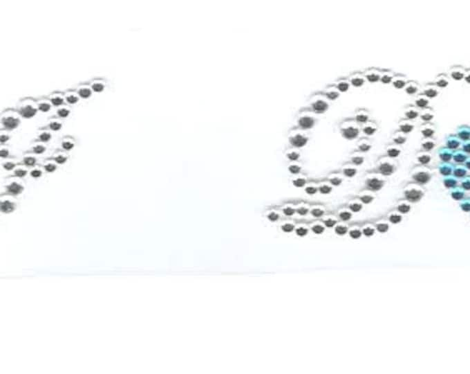 i do with heart crystal pair of shoe stickers easy to apply