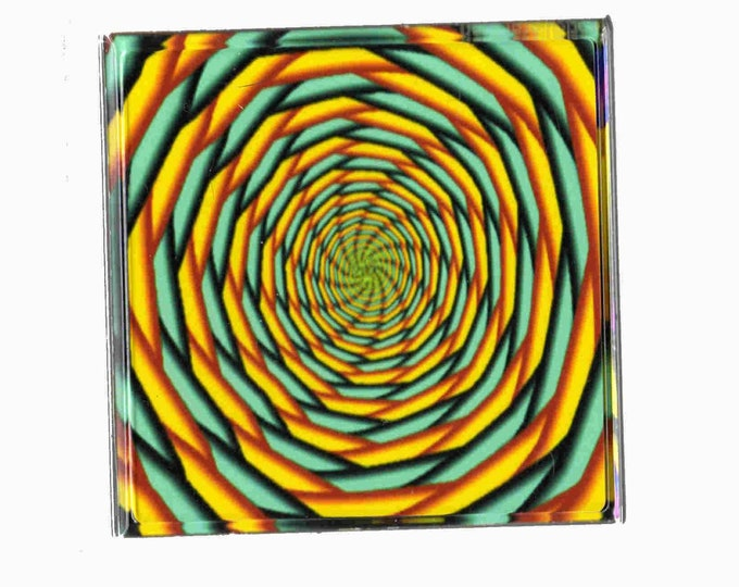 illusion coaster, made in uk drinks, plate  etc coaster