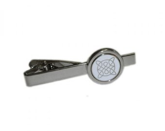 Celtic Knot Tie Clip / tie slide in gift box  tieclip, tie holder