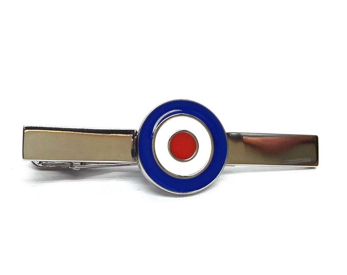 royal air force  Flag and aircraft roundel coin shape  design enamel finish