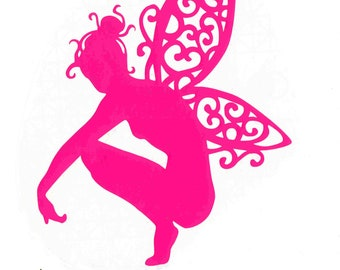 fairy decal ideal cars, trucks, home etc easy to apply