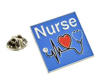 Medical Nurse Design Lapel Pin Badge,  in gift box