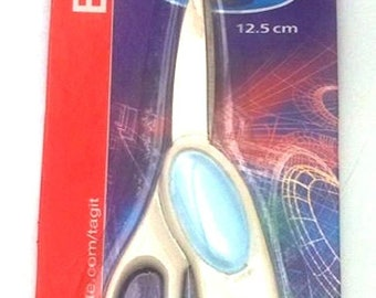 "tag-it cutting scissors 12.5CM 5"" inch deal paper craft art work, shools etc"