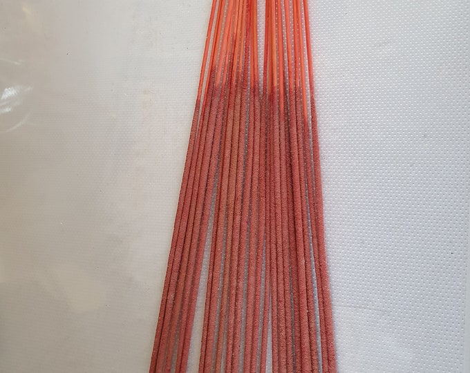 candy floss - cotton candy scent pack insence 20 sticks , hand made in uk long burning